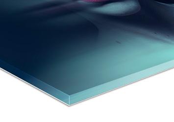 Acrylglasfoto Glanz