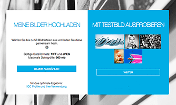 Online Konfigurator und Onlineshop cromeart.photo